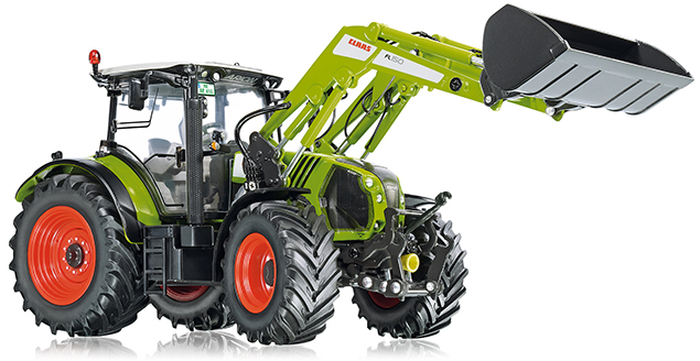 Wiking 7325 Claas Arion 650 mit Frontlader