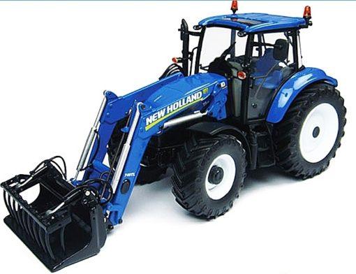 Traktor new holland td mit frontlader betriebsstunden in