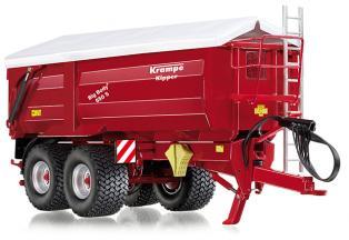 Wiking 7335 Krampe Big Body 650 S Hinter- / Seitenkipper mit Rollplane